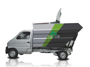 IBC-Y50 pure electric compression garbage storage truck